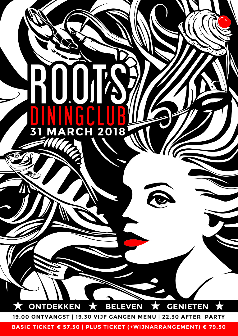 Roots Dining Club 8.0 komt eraan