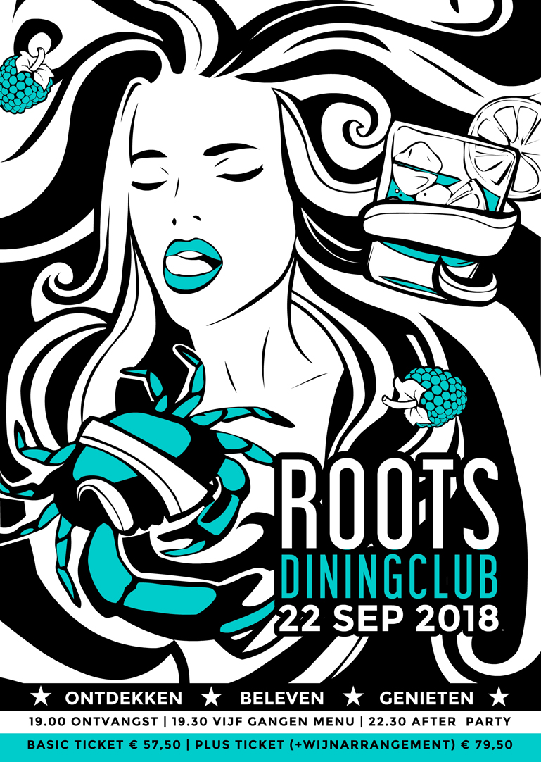 Roots Diningclub 10 - Poster