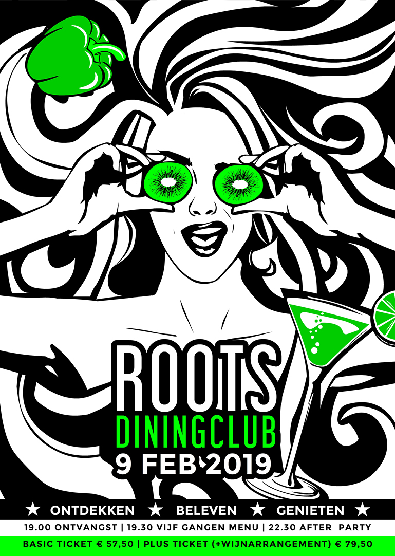 Roots Diningclub 11 - Poster