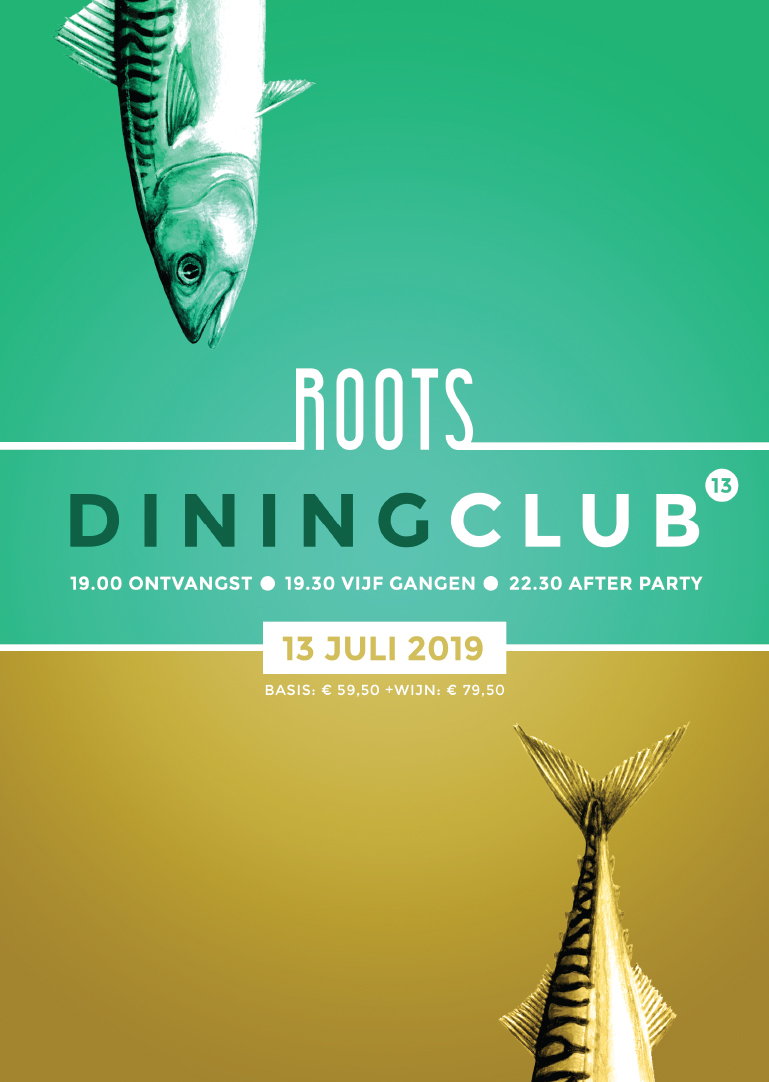 Roots Diningclub 13 - Poster