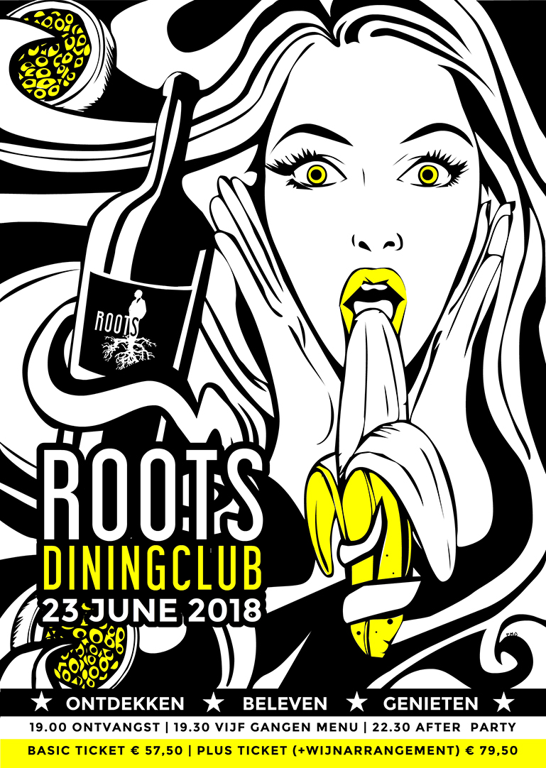 Roots Diningclub 9 - Poster